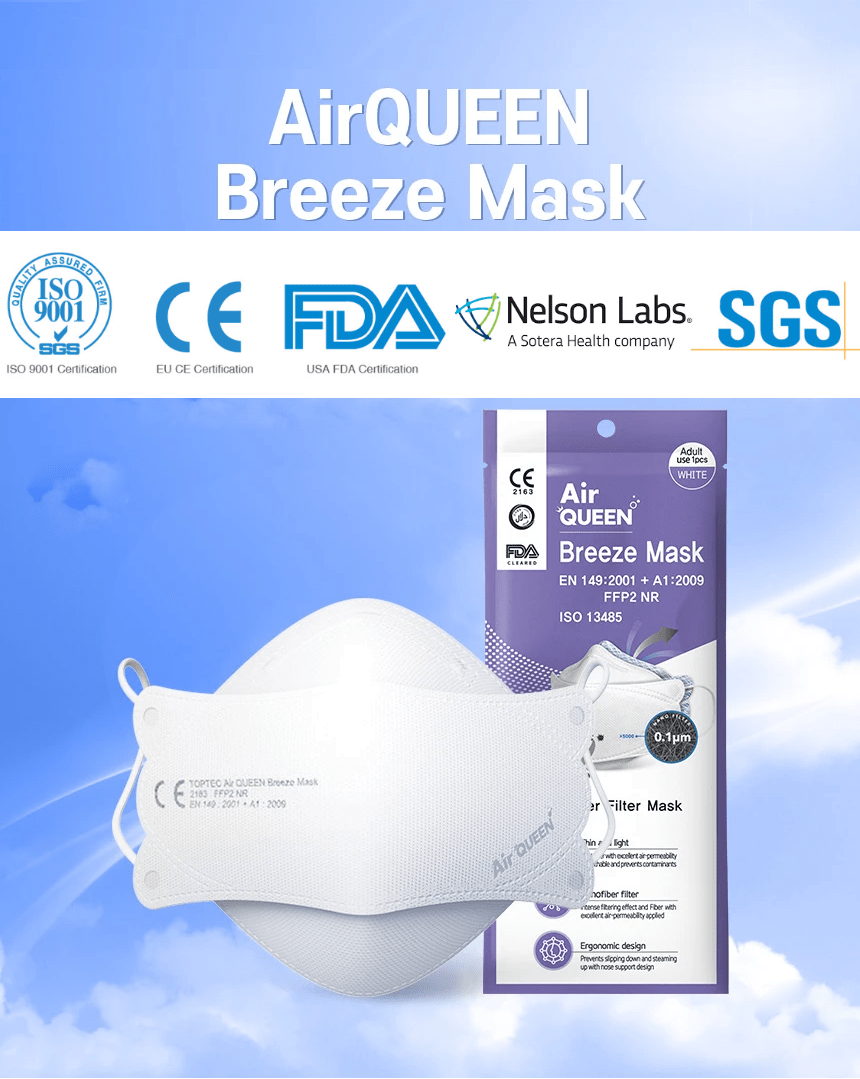 Air Queen nano mask by TopTec